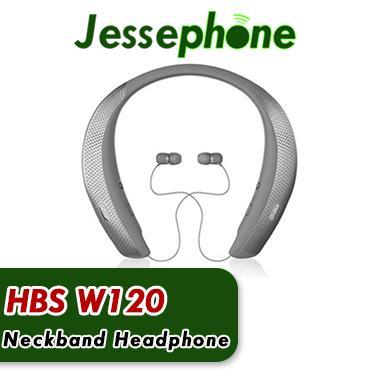 De calidad superior HBS W120 Auriculares inalámbricos Bluetooth CSR 4.1 Neckband Auriculares deportivos Auriculares con micrófono Altavoces más nuevos sin logotipo