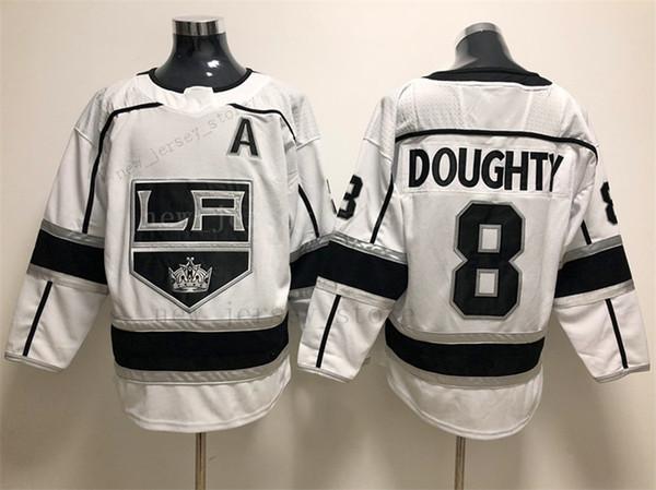 8 Drew Doughty Weiß