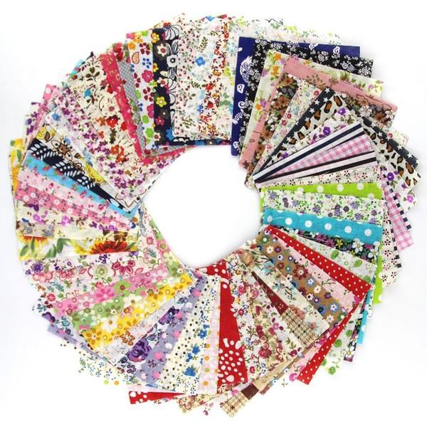 60 pezzi / lottp 10 cm x 10 cm pacchetto di fascino fai da te tecido tessuto di cotone quilting patchwork tessuti bundle panno cucito vendita calda