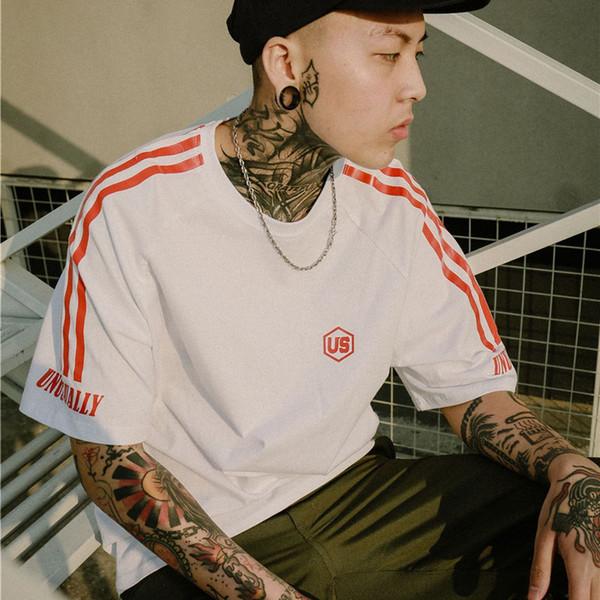 Mens T Shirt Brand Designer Summer New T Shirt Striped Men Women Tees Couple Tee Tops Casual Mens Shirt Hip Hop Streetwear