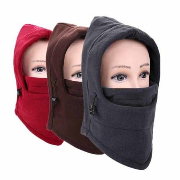 Balaclava Fleece Hood Unisex Winter Ski Face Mask Neck Cap OK006RR