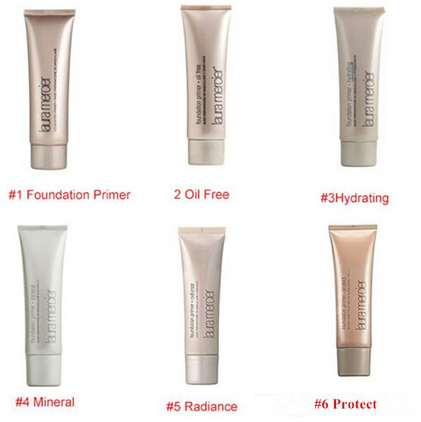 top popular 2019 Laura Mercier Foundation Primer Hydrating  Mineral  Oil Free Base 50ml Face Makeup 6 Styles Base 50ml items 2020