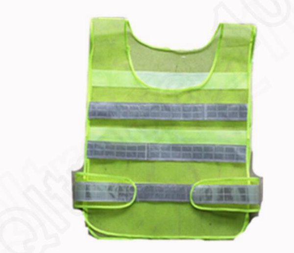 best selling Wholesales Popular High Quality Visibility Reflective Safety Vest Coat Sanitation Vest Traffic Safety warning clothes vest for Free Shipping