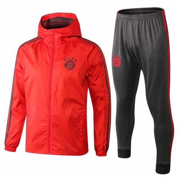 New 25 MULLER Jersey trench coat 18/19 football jersey custom #11 JAMES#9 LEWANDOWSKI Bayern Munich football trench coat