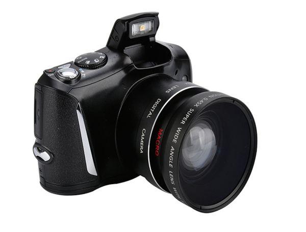новая цифровая зеркальная камера 3,5-дюймовый экран дисплея 24MP Anti Shake Micro SLR camera 5x Opti