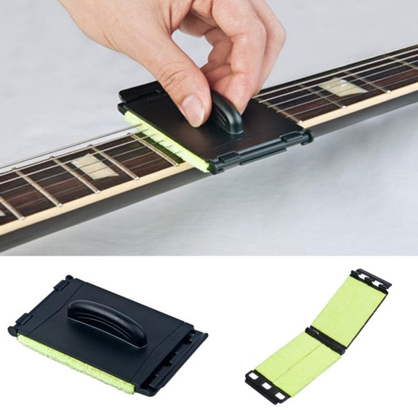 best selling Guitar Strings Cleaner Guitar Bass Cleaning Tool Strings Scrubber Cleaner Instrument Body Cleaning Tools