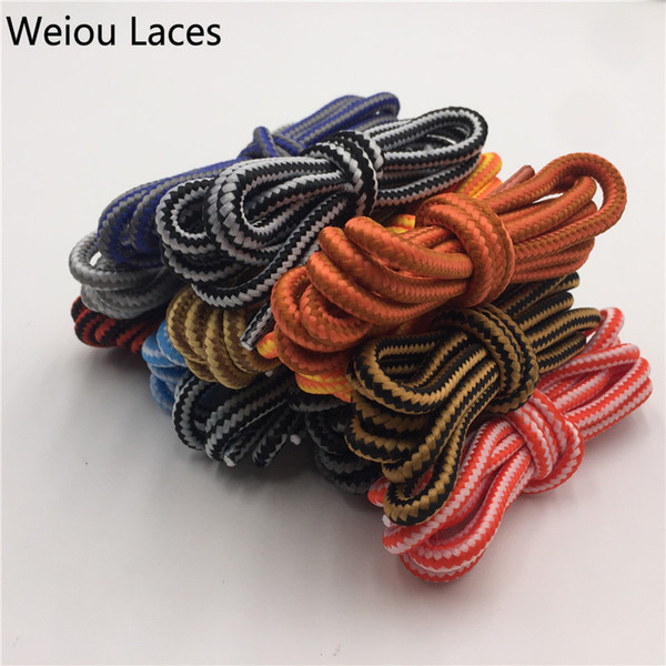 Weiou Leisure Ropelace Anti-skidding Outdoor Shoelace Hiking Climbing Shoes Martin Boots Shoestring Skate Boot Shoe Laces String
