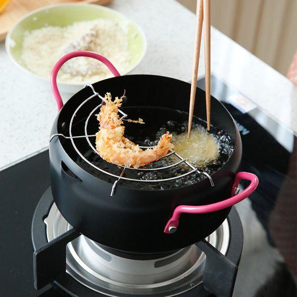 Yihao 18cm Non-Stick Bakır Tava Seramik Kaplama Ve İndüksiyon ile Pişirme, Fırın Bulaşık Makinesi Güvenli Tavalar