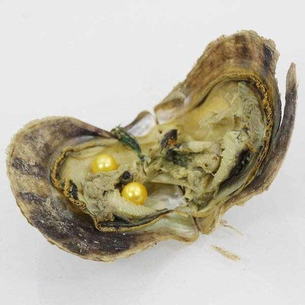 60PCS of single Twins Triplet Quads Round Akoya Pearl Oyster Mix 25 Colors Individual Vacuum Package 6-7mm Saltwater