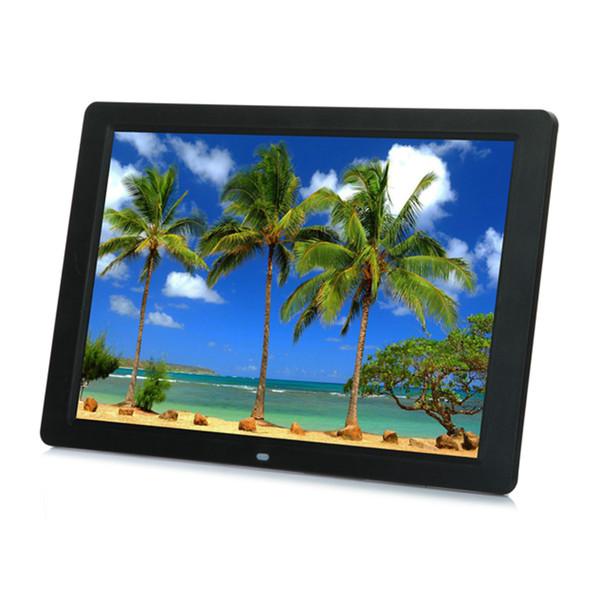 wholesale 15 Inches LED Backlight HD 1280*800 Screen Digital Photo Frame Electronic Album Music Mp3 Video Mp4 Porta Retrato Digital