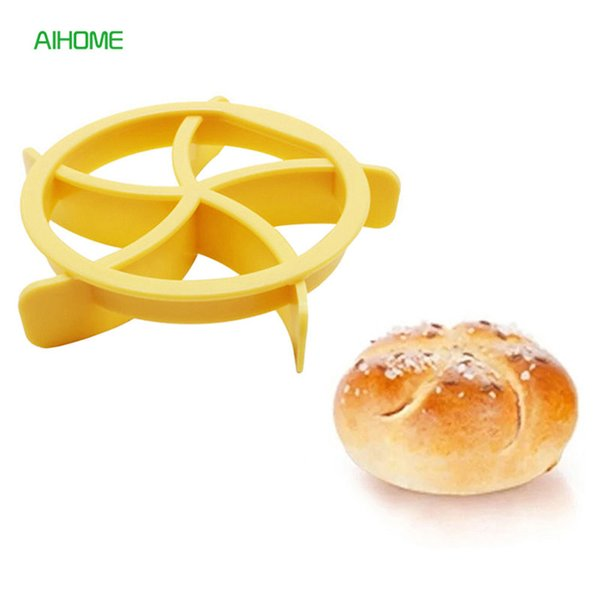 heap Baking & Pastry Tools New Kitchen DIY Steamed Stuffed Bun Pastry Baking Tools Plastic Bread Mold Biscuit Cookie Cutter Moulds Fo...