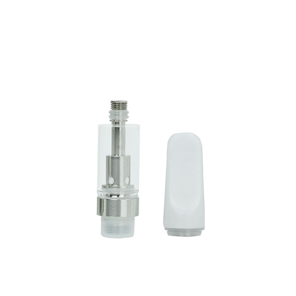 Best Quality TH205 Cell Disposable Vaporizer Vape Tanks Ceramic Coil 510 Thread Ceramic Glass Atomizer Thick Oil Cartridge