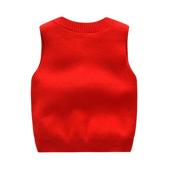 New Baby 2-6Y kids sweaters for boys Knit Cardigan V-neck casual children sweater girl warm outerwear solid toddler boy sweater