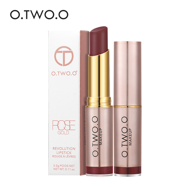 O.TWO.O Makeup Matte Lipstick 20Colors Vevet Long Lasting Kissproof All Day Lipstick Best Selling 2017 For Girls
