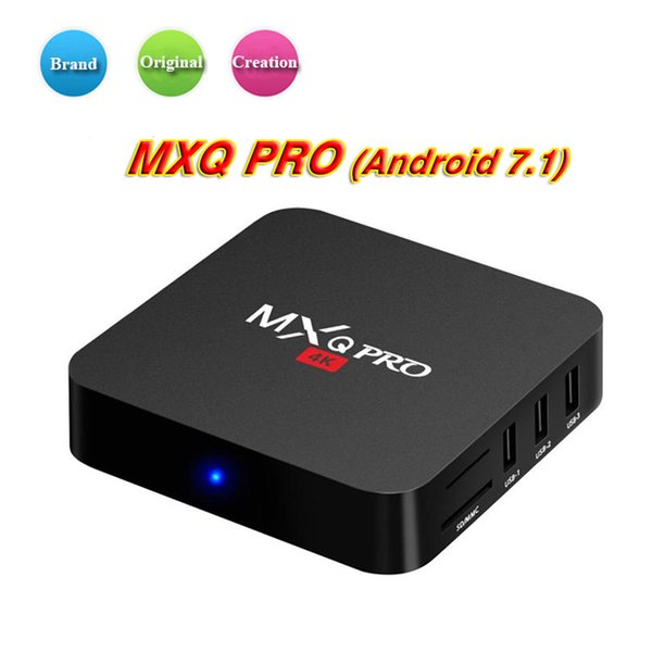 Best selling 1 GB 8 GB MXQ Pro 4K Android Caixa de TV RK3229 Rockchip MXQ PRO 17.5 Android 7.1 3D 4 K wifi Caixa de TV Inteligente Melhor TX3 X96 mini