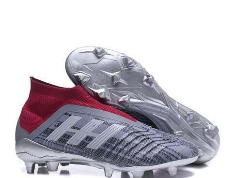 Botas De Fútbol De Tobillo Para Hombre 2019 PP Predator 18+ FG Calzado De Fútbol Predator 18.1 Tacos De Fútbol Para Exteriores Por Lzssprotsshoes,