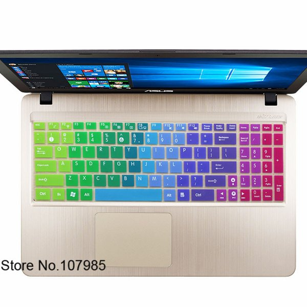 Ultra Thin Silicone Laptop Keyboard Protector Skin Cover For Asus F555 F555LA F555LJ F555LB F555LD X550K501UX K501UW GL552VW