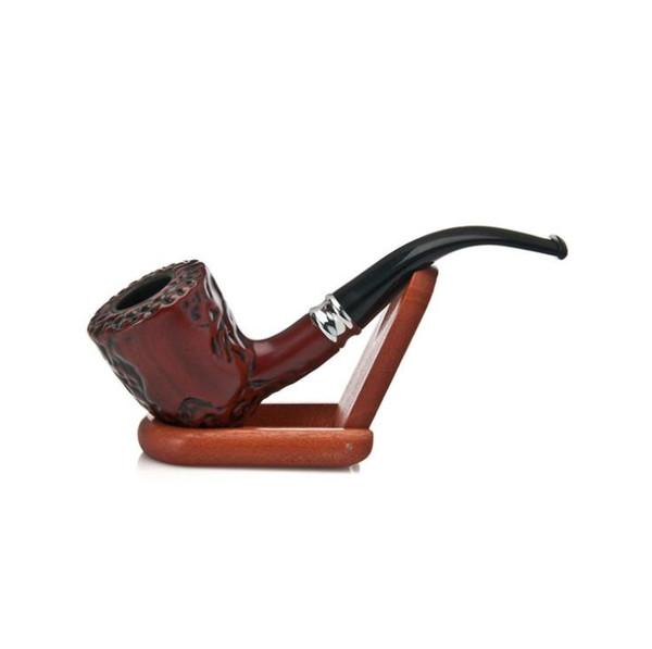 Yeni sigara bağlantı parçaları, kısa boru, keskin alt dalgalanma, retro nostaljik boru filtresi.