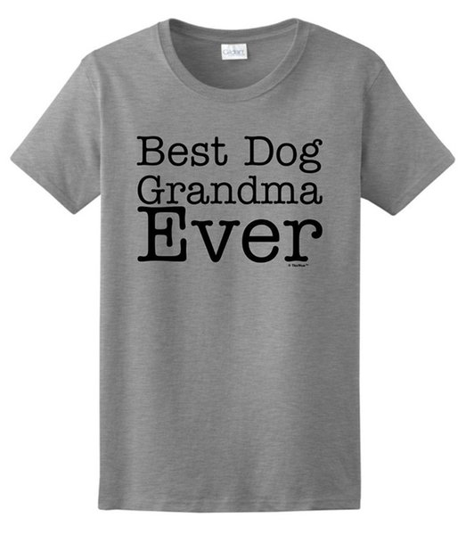 Free shipping 2018 Grandma Gift Best Dog Grandma Ever Ladies T-Shirt Funny Cotton Short Sleeve Shirts For Men