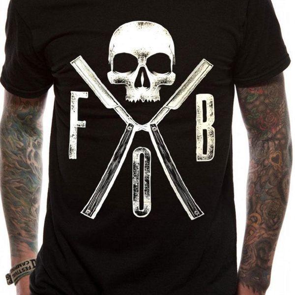 Fall Out Boy - Razors T Shirt Size:L,XL - NEW & OFFICIAL O Neck Shirt Plus Size T-Shirt 100 % Cotton Tee Shirt for Men