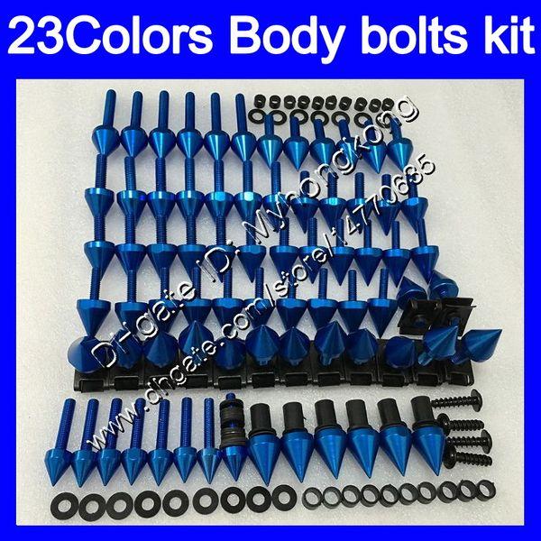Fairing bolts full screw kit For KAWASAKI NINJA ZXR400 89 90 ZX-R400 89-90 ZXR-400 ZXR 400 1989 1990 Body Nuts screws nut bolt kit 25Colors