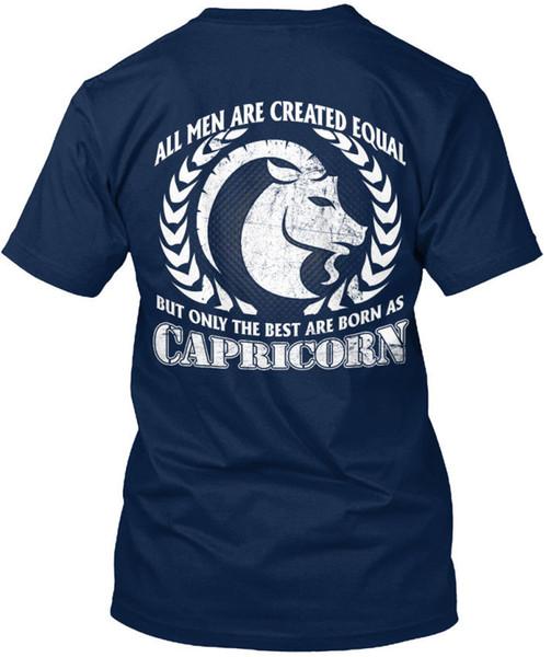 Capricorn Born, S Standard Unisex T-Shirt (S-3XL) 2018 New Fashion Brand Clothing Cool T-Shirts Designs Best Selling Men