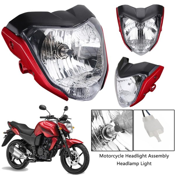 Motorcycle Headlight Assembly Headlamp Light House New Red Fit for Yamaha FZ16 YS150 FZER150