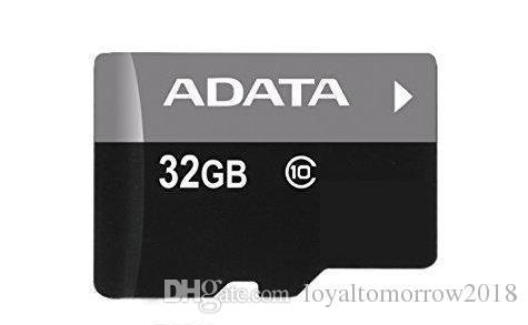 Mejor venta de ADATA 100% de capacidad real 32 GB TF adaptador de tarjeta de memoria paquete al por menor envío rápido gratis Envío gratis