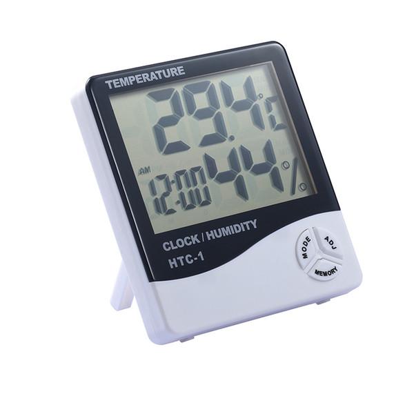 70°C Temperaturmesser Digitalthermometer Thermometer digital weiß LCD 50°
