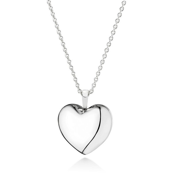 USA Seller Locket Heart Pendant Sterling Silver 925 Best Price Jewelry Gift
