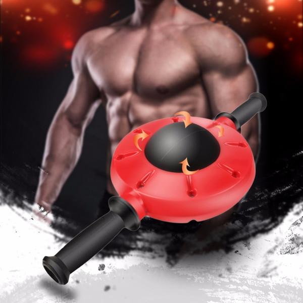 Gimnasio Máquina de ejercicios abdominales Ab Roller Ejercicio físico Entrenador abdominal Entrenamiento Rueda Rueda de construcción muscular