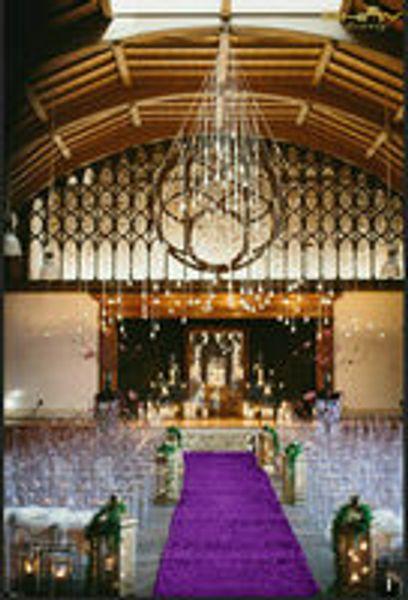 ShinyBeauty 3FTX15FT Sequin Aisle Runner-Purple Sparkly Carpet Runner Carpet Aisle Runner for Wedding/Christmas /Thanksgiving Decor