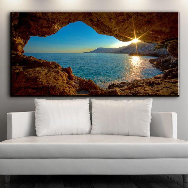 Großhandel Leinwanddrucke Côte D\'Azur Exklusive Wandbilder Ölbilder  Wohnzimmer Wandbilder Wanddekoration Ideen Von Framedpainting, $26.44 Auf  ...