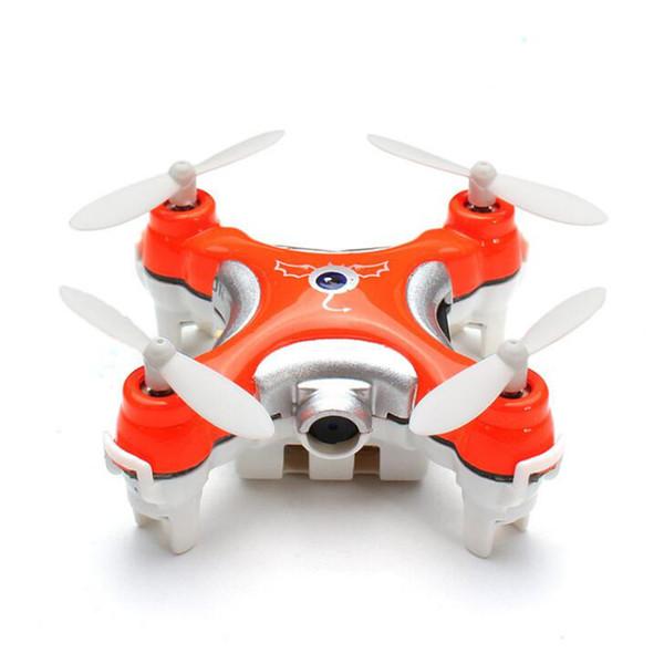 Drone With Camera 0.3MP CX-10C RC Quadrocopter 2.4G 6-Axis Gyro RC Micro elicottero giocattolo di controllo remoto per bambini Mini Dron