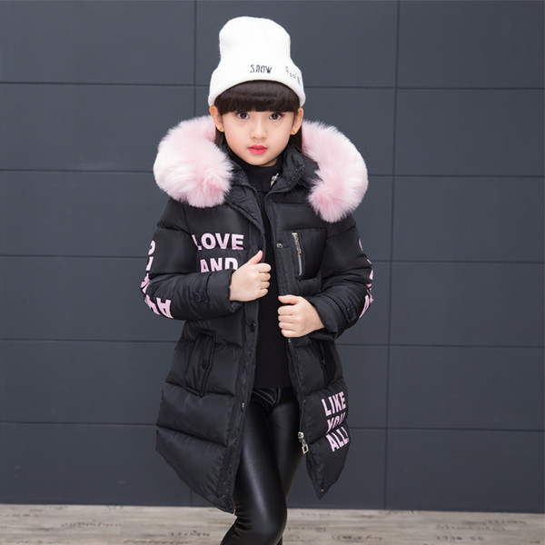top popular Children's Winter Cotton Warm Jacket Cotton-padded Jacket Cotton-padded Clothes Winter Jacket Park for A Girl Lively Winter Coat 2021
