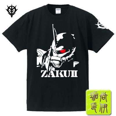 T-shirt Anime Gundam Manches courtes T-shirt Xiashang ZAKU Manches courtes hommes et femmes