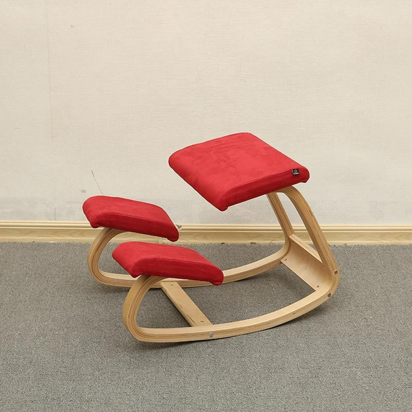 Surprising 2019 Original Ergonomic Kneeling Chair Stool Home Office Furniture Ergonomic Rocking Wooden Kneeling Computer Posture Chair Design From Pdpeps Interior Chair Design Pdpepsorg