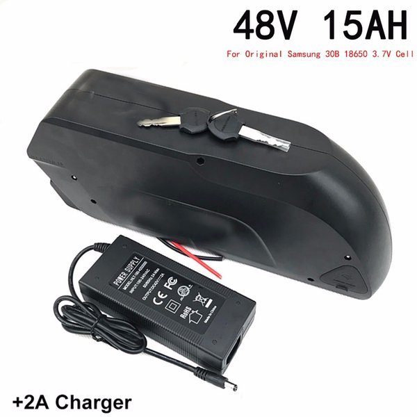 48V15Ah electric bicycle lithium battery using the original Samsung 30B battery for 600W1200W motor EU US no tax