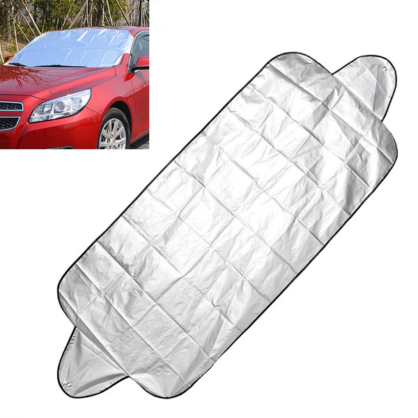 top popular 150*70cm Anti Snow Shield Car Covers Windshield Shade Windscreen Cover Dust Protector Auto Front Window Screen Cover Car-styling 2020
