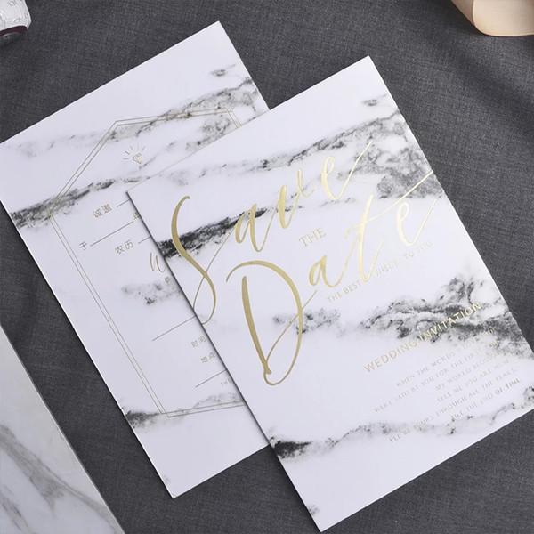 Wedding Invitation Card Wedding Invitation Card Korean Style Small Fresh 2018 Creative Personality Continuously Empty Upscale Wedding Invita Sample Of