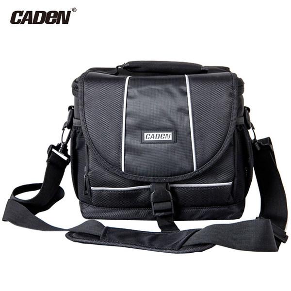Caden Waterproof Nylon SLR DSLR Camera Storage Bag with Detachable Shoulder Strap for Canon for Nikon Digital Camera Case D2