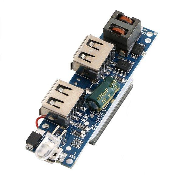 Placa móvel do lítio da exposição 18650 do LCD do módulo do carregador de bateria do banco do poder 5V