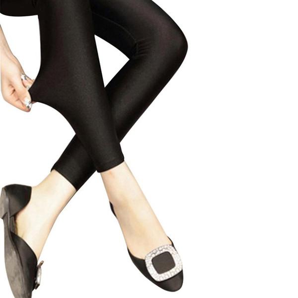 Multiple Color Neon Leggings Adventure Time forcasual Pant Cheap Women Black Legging Skinny Elastic Pants Casual