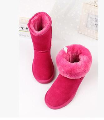 Free shipping 2018 high quality new Australian classic high winter boots leather WGG 5281 children snow boots women's boots