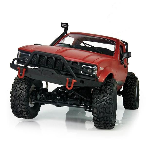 Newest WPL 1:16 2ch 4wd RC Truck 2.4G Off-Road Truck Electric RC Car 15km/H Top Speed RTR/KIT Mini Racing Car Toys
