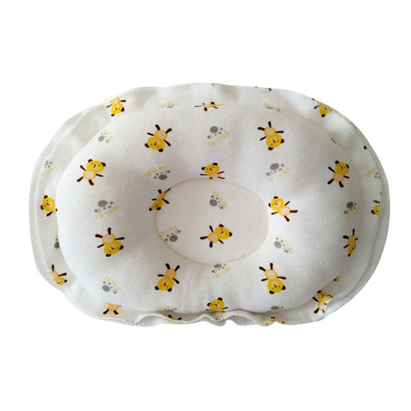 Baby Forming Pillow Cotton Pillow Prevent Flat Head Baby Cute Boy Girl Sleeping Bedding Soft Cotton
