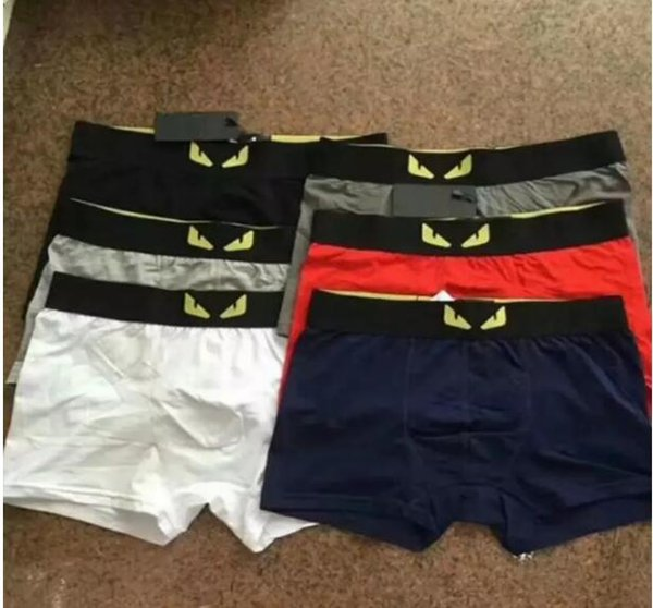 bbf88269a7d Luxury Brand Mens Underwear Boxers Letter Sexy Soft Cotton Underpants  Sports Casual Underwears For Men Boys 6 Color