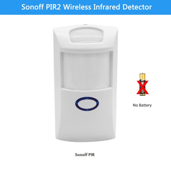 Sonoff PIR2 Wireless Dual Infrared detector Motion Sensor smart Home Automation Security Alarm System for Alexa Google Home