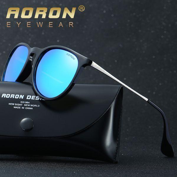 AORON Fashion Polarized Women Sunglasses Gafas de sol con espejo clásico para mujeres y hombres