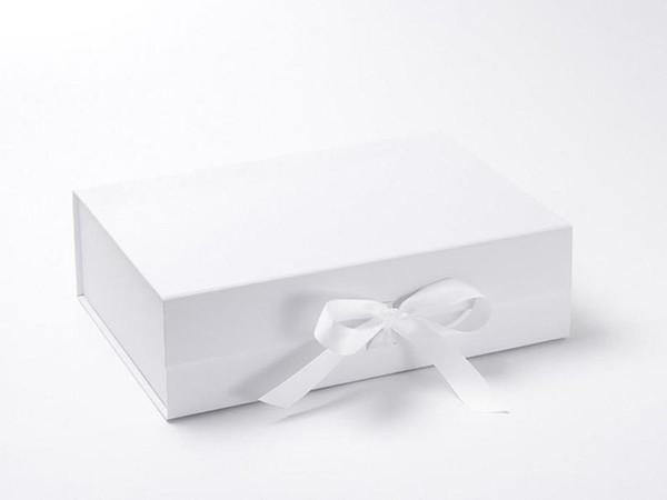 boîte blanche sur mesure 23x17x7cm